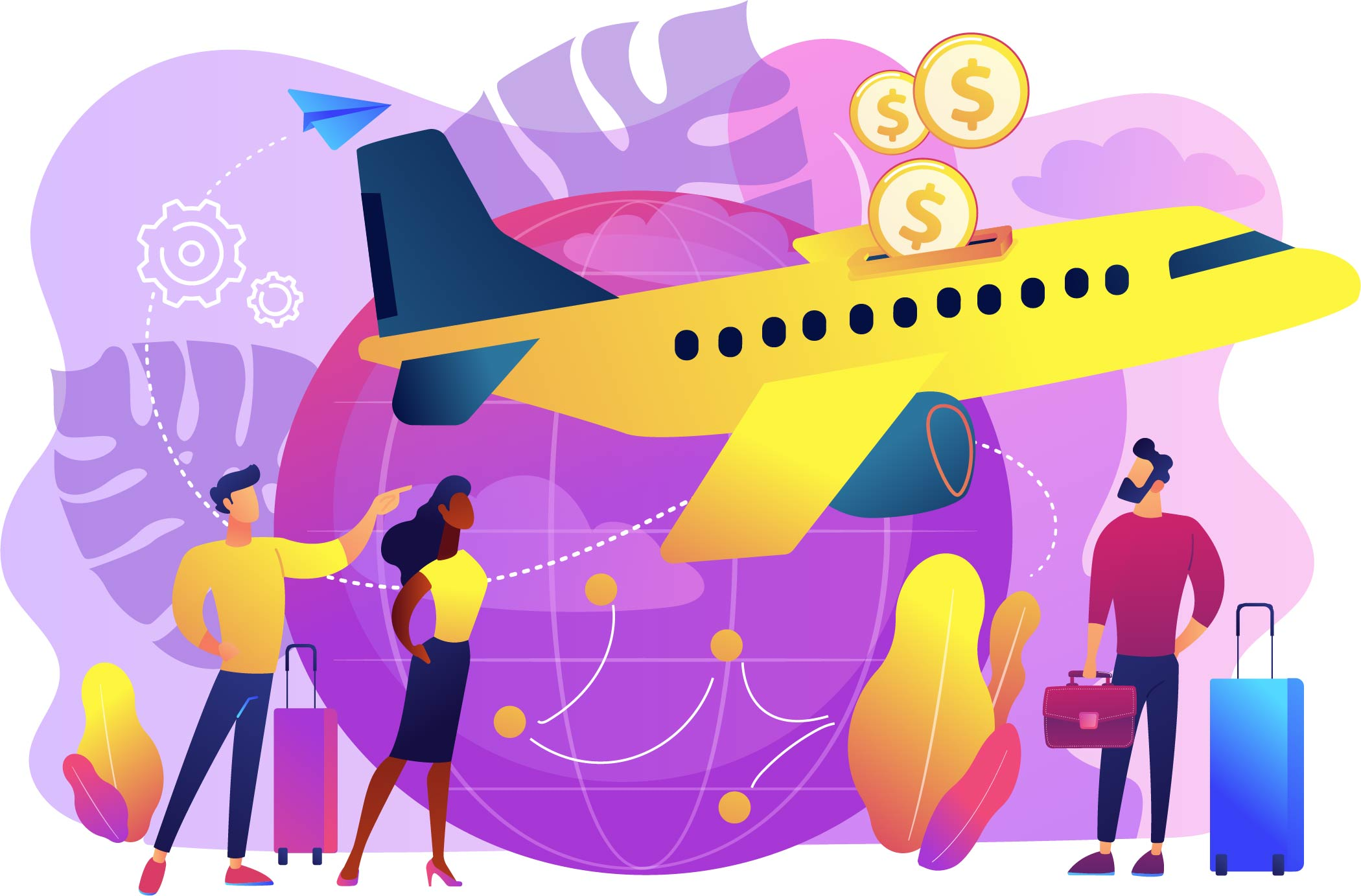 How can my organisation analyse its business travel costs?
