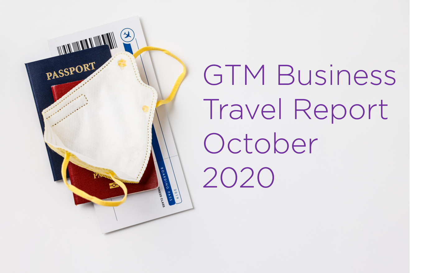 Good Travel Management COVID-19 Business Travel Report – October 2020