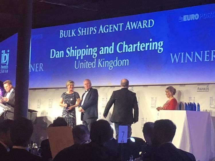 Dan Shipping IBJ Award