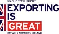 EXPORTING IS GREAT logo