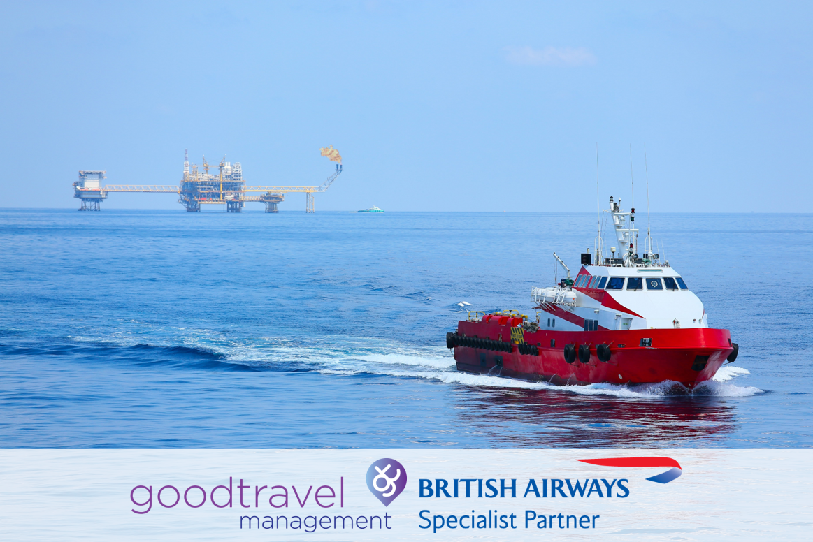 Good Travel Management appointed as a British Airways Specialist Agent to the Marine and Offshore Sector