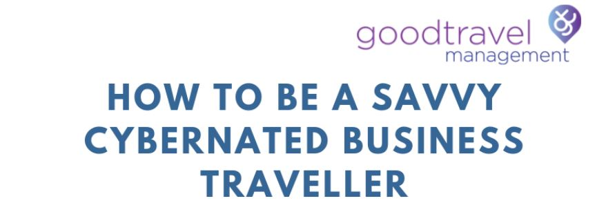 Header Infographic: How to be a Savvy Cybernated Business Traveller