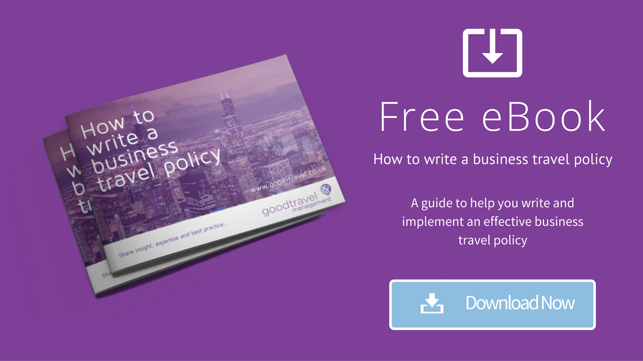 Download your free guide on writing a business travel policy