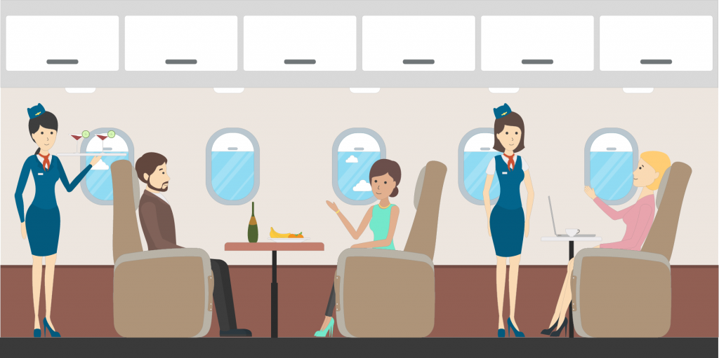 6 things for corporate travellers to do on a plane without a laptop or tablet