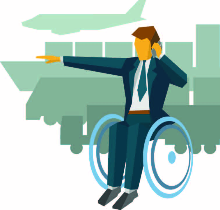 How is the business travel industry catering for needs of disabled travellers?