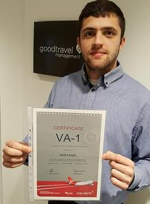 Business Travel Consultant VA1 Certificate