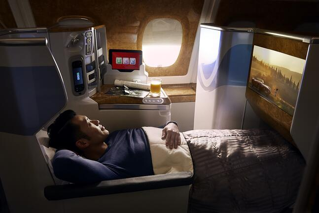 Enjoy a more rewarding way to book business travel with Emirates