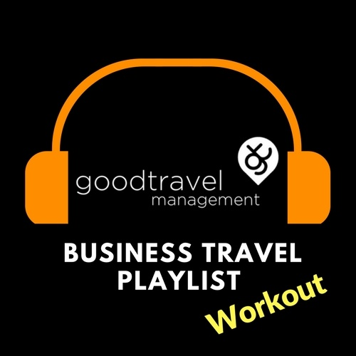 Good Travel Management add workout tracks to spotify business travel playlist