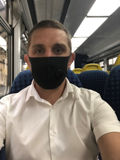 Good Travel Management Travelling by Train Facemask