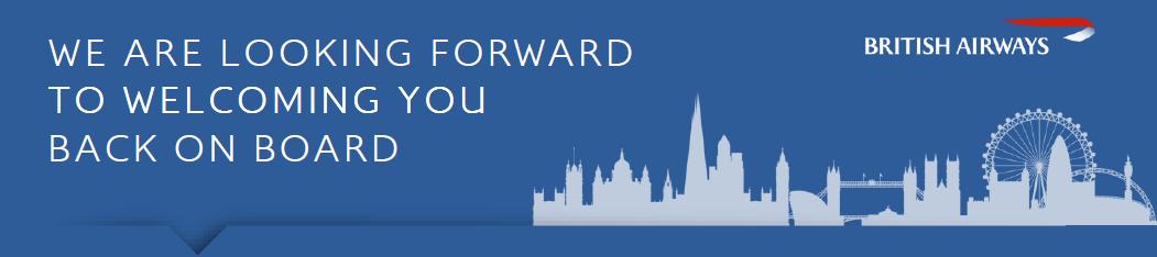 Good Travel Management British Airways welcome passengers back